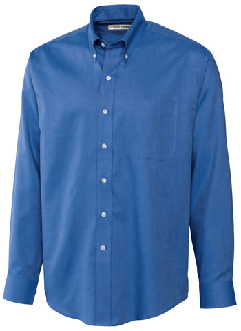 Men's Cutter & Buck French Blue Epic Easy Care Nailshead