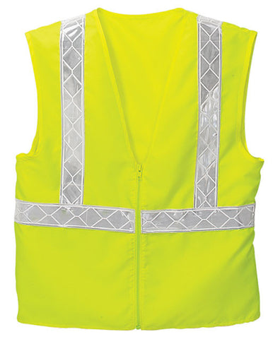 Safety Yellow Enhanced Visibility Vest