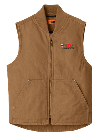 CornerStone® Duck Brown Washed Duck Cloth Vest