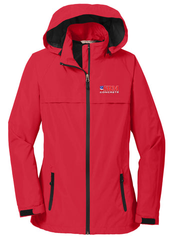 Ladies Red Torrent Waterproof Jacket
