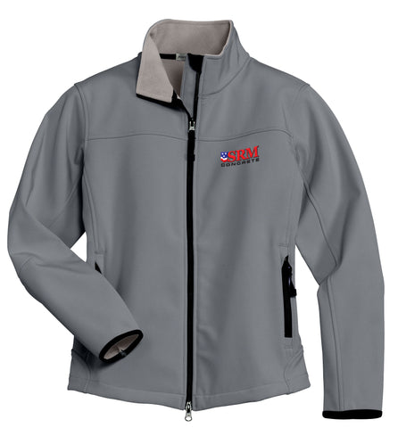 Ladies Gray Glacier® Soft Shell Jacket