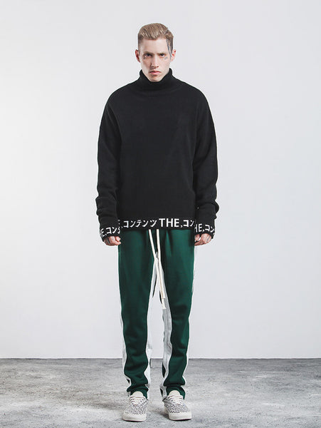 Turtleneck Thick Pullover Sweater