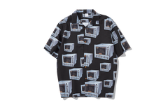 Printed Short Sleeve Shirt - simplifybox