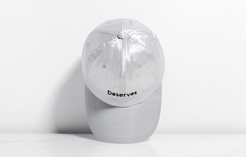 DESERVES Harajuku Baseball Cap (Grey) - simplifybox