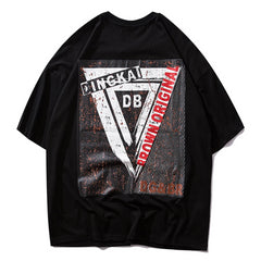 DB Inverted Triangle T-Shirt - simplifybox