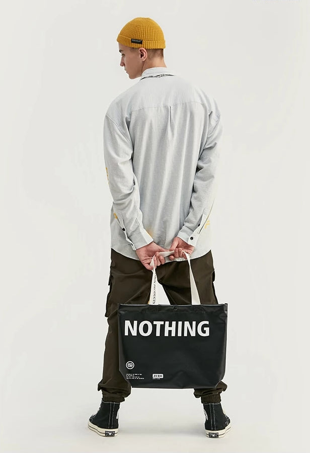 Shop Zero Nothing Bag Hand Tote at SIMPLIFYBOX. Find our latest collection of Bags at SIMPLIFY BOX