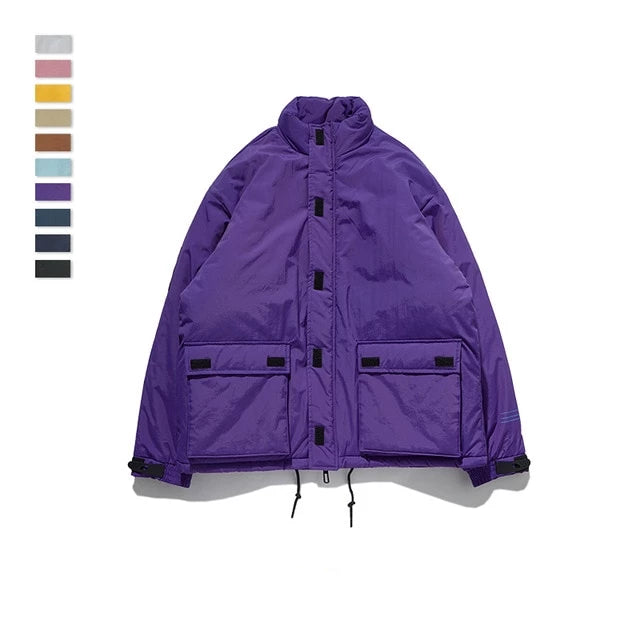 Behere Now Winter Parka Jacket - simplifybox