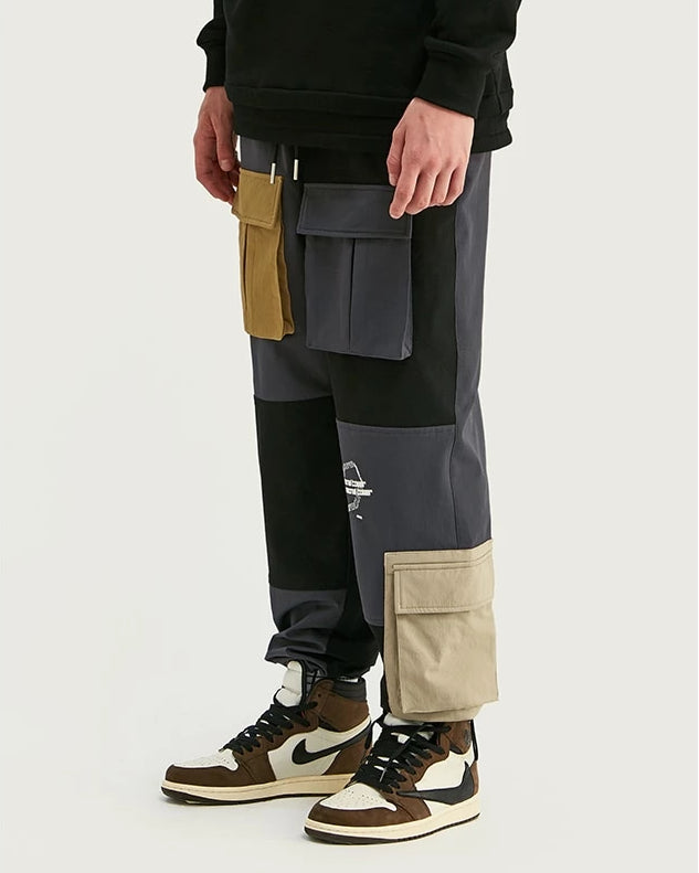 Pocket Ankle-Tied Homme Joggers Pant - simplifybox