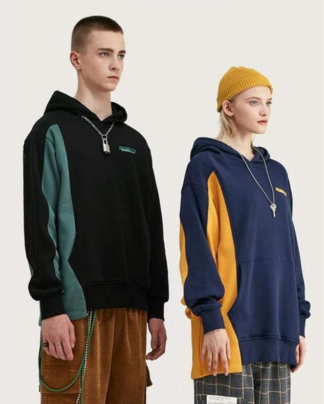 Uncommited Oversized Hoodies