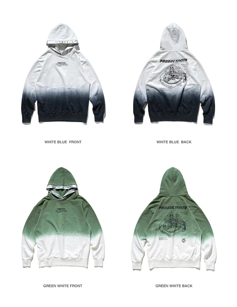 Productivity Tie-dye Hoodies - simplifybox