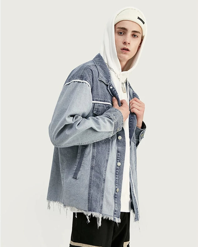 Shop Poker Oversized Men Streetwear Denim Jacket at SIMPLIFYBOX. Find our latest collection of Jacket Coats at SIMPLIFY BOX