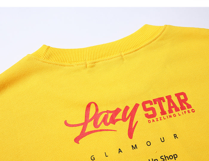 Lazy Star Glamour Sweatshirt - simplifybox