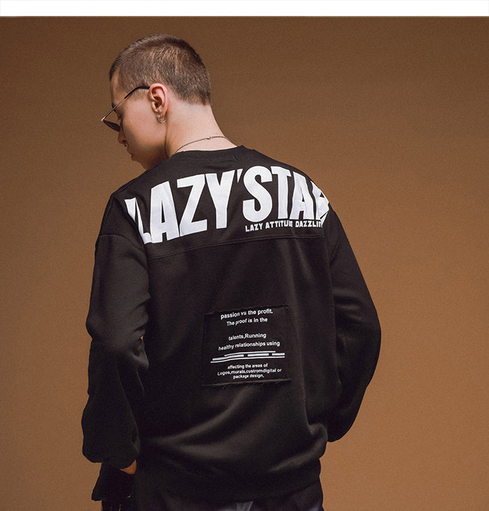 Lazy' Star Sweatshirt - simplifybox