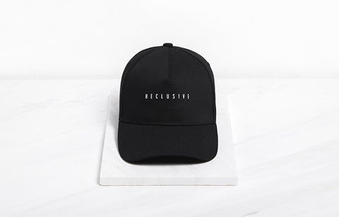 Reclusive Baseball Cap (Black) - simplifybox