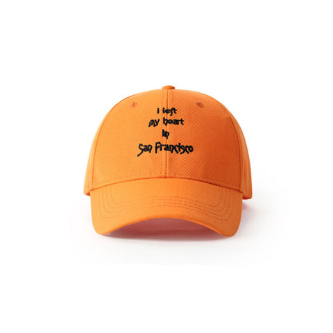 I Left My Heart In San Francisco Baseball Cap - simplifybox