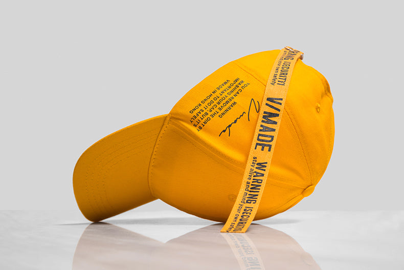 V/Made Basic Baseball Cap (Yellow) - simplifybox