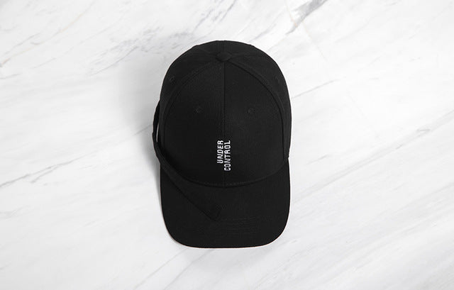 Under Control Baseball Cap (Black) - simplifybox