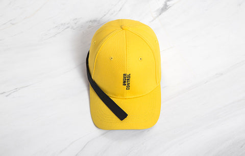 Under Control Baseball Cap (Yellow) - simplifybox