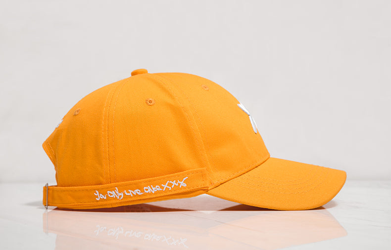 Long Belted Xotic Baseball Cap (Yellow) - simplifybox