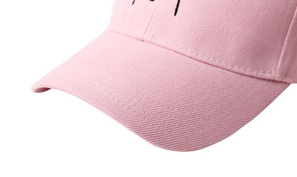 I AM NOT LOST Pink Baseball Cap