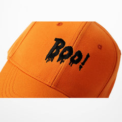 Boo! Embroidery Baseball Cap - simplifybox