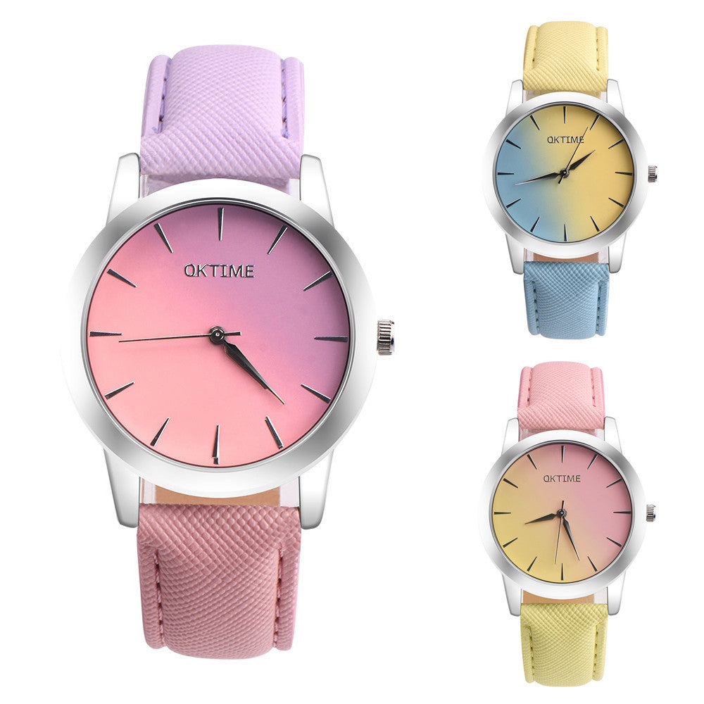 Pastel Quartz Wristwatch - simplifybox