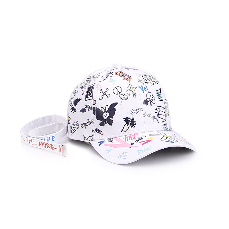 Fake Happiness Baseball Cap - simplifybox