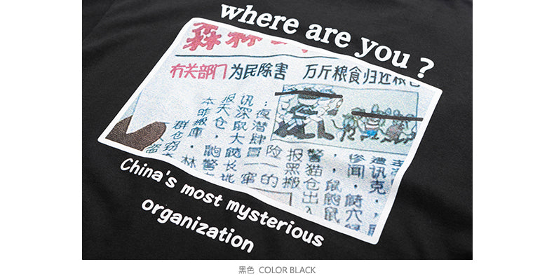 Creator Plan Series Where are you ? T-shirt - simplifybox
