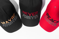 NEVER FOREVER Baseball Cap - simplifybox