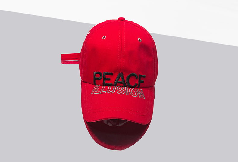 PEACE ILLUSION Baseball Cap – SIMPLIFY BOX 29eae0d7bd7c