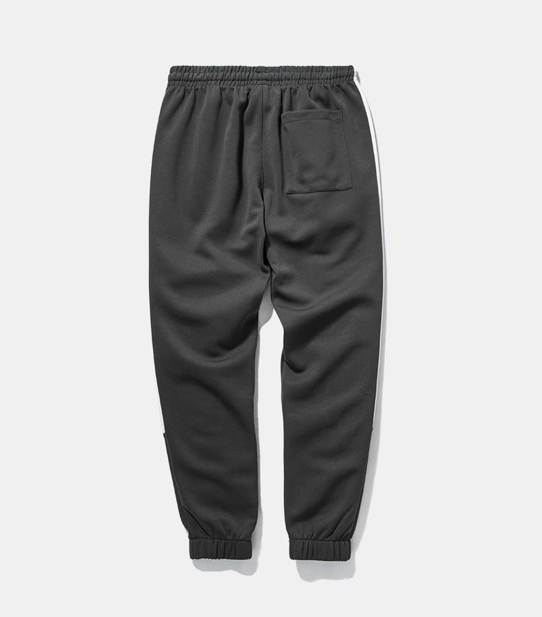 Self-Instruction Elastic Waist Casual Cargo Sweatpant - simplifybox