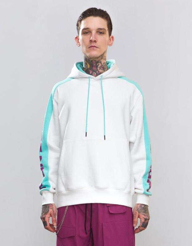 Behere Now Patchwork Men Hoodies - simplifybox