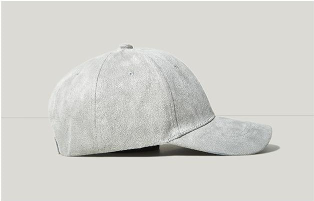 Basic Velvet Baseball Cap - simplifybox