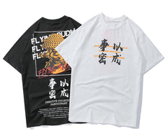 Flying Budha T-shirt - simplifybox