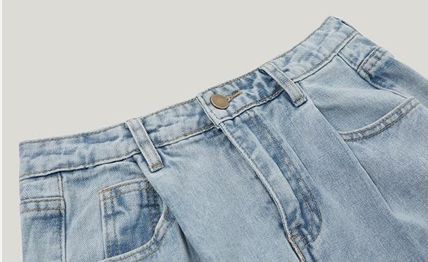 Summer High Waist Jean - simplifybox