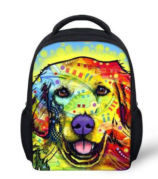Labrador Dog Backpack