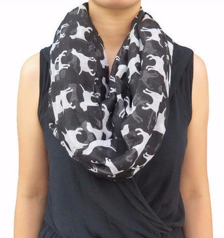 Black Labrador Dog Scarf