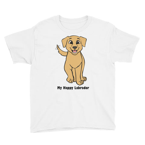 My Happy Labrador Youth Short Sleeve T-Shirt