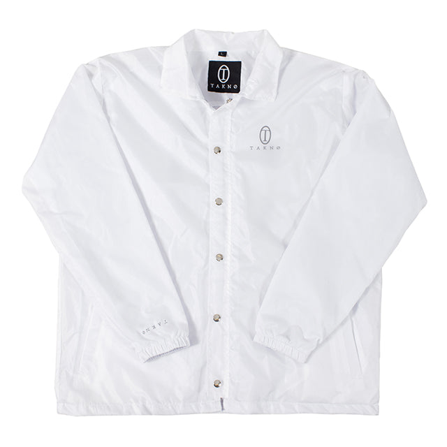 LIGHTWEIGHT COACHJACKET (WHITE)