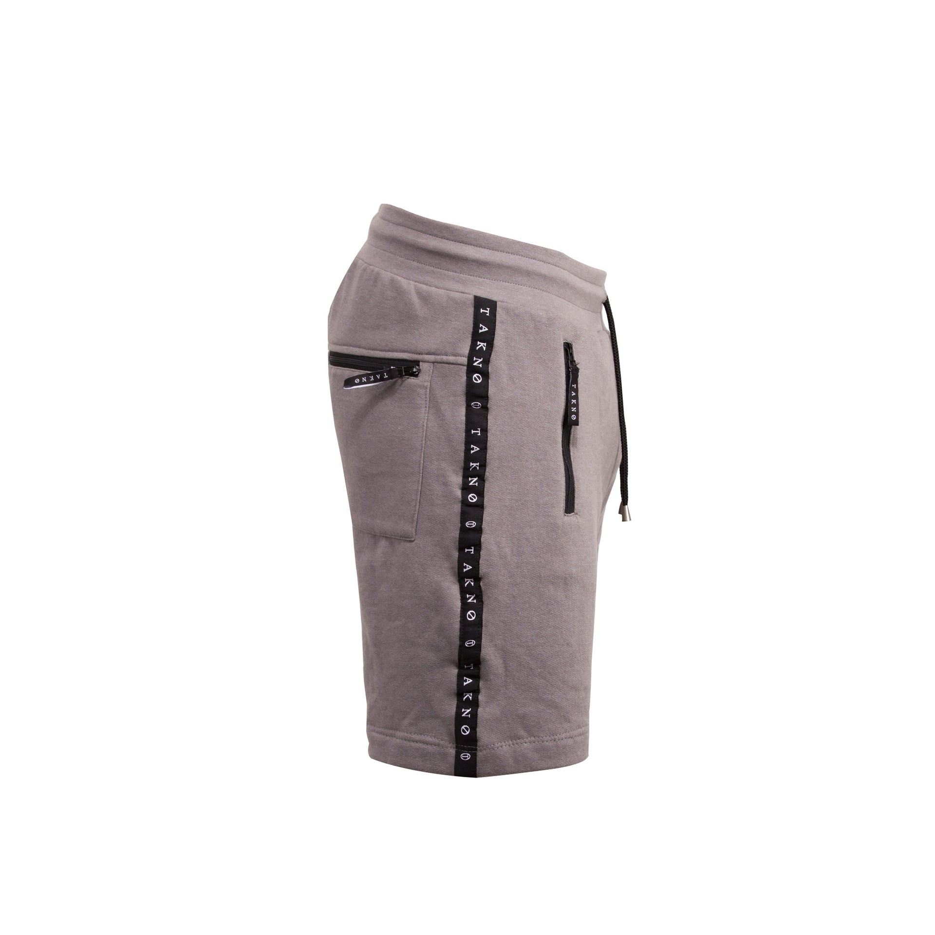 Grey Melee Tape Logo Sweatshort