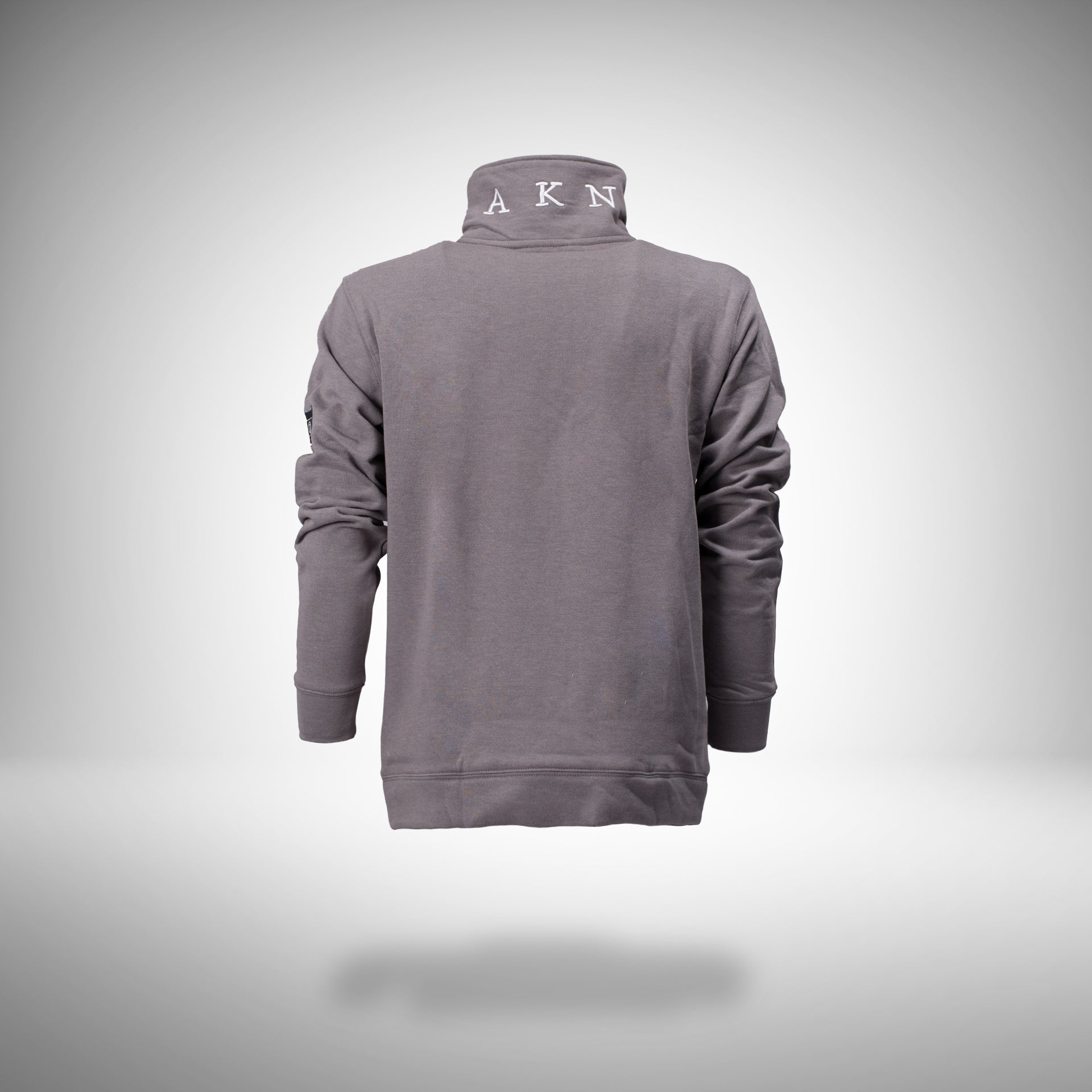 FNTS Half-Zip Polo Sweater (Grey Melee)