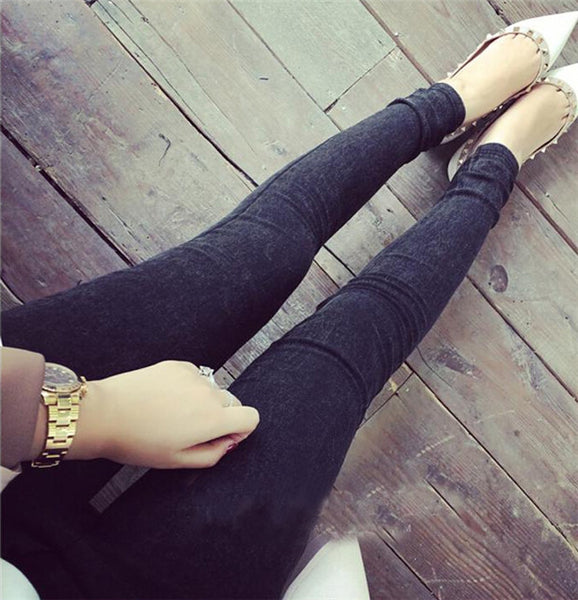 Women Jeans Stretch Cotton Denim Pants Trousers Boyfriend Plus Size Skinny Jeans Pencil Pants