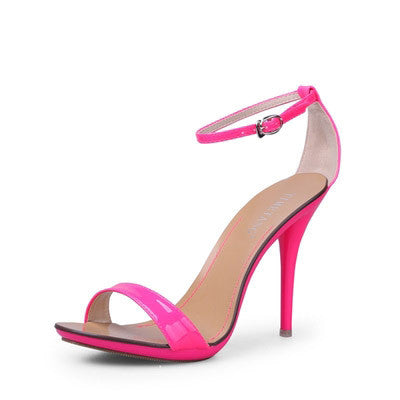 Women Sandals New Sexy High Heel Gladiator Sandals Women Ladies Fashion Contract Candy Color Sexy Peep Toe Dancing Sandals