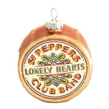The Beatles: Sgt Pepper Drum Ornament