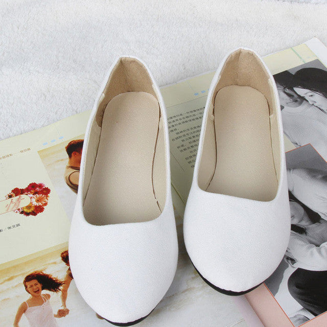 20Colors Women Shoes Candy Color Loafers Spring Summer Slip-on Women