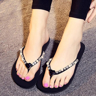 2017 Summer New Women Sandals Outdoor Beach Leisure Slippers EVA