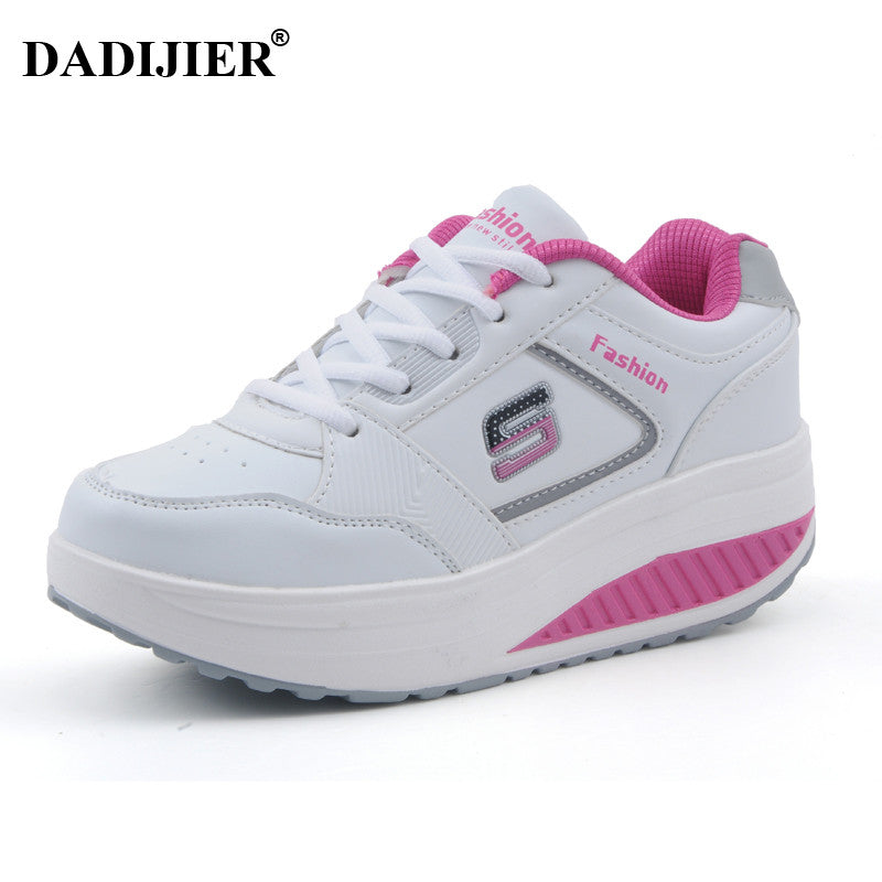 2017 Women casual shoes Slimming platform shoes women fashion women