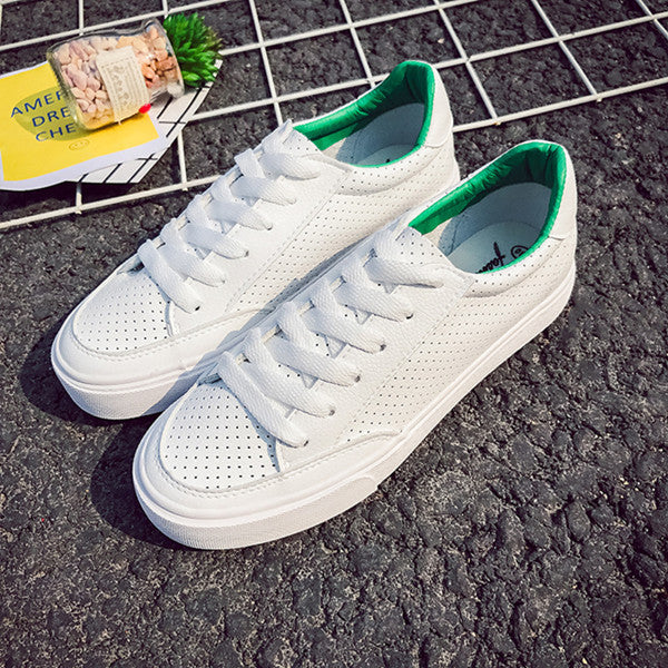 2017 Spring Autumn Shoes For Women Comfortably Lace-up Flats Shoes
