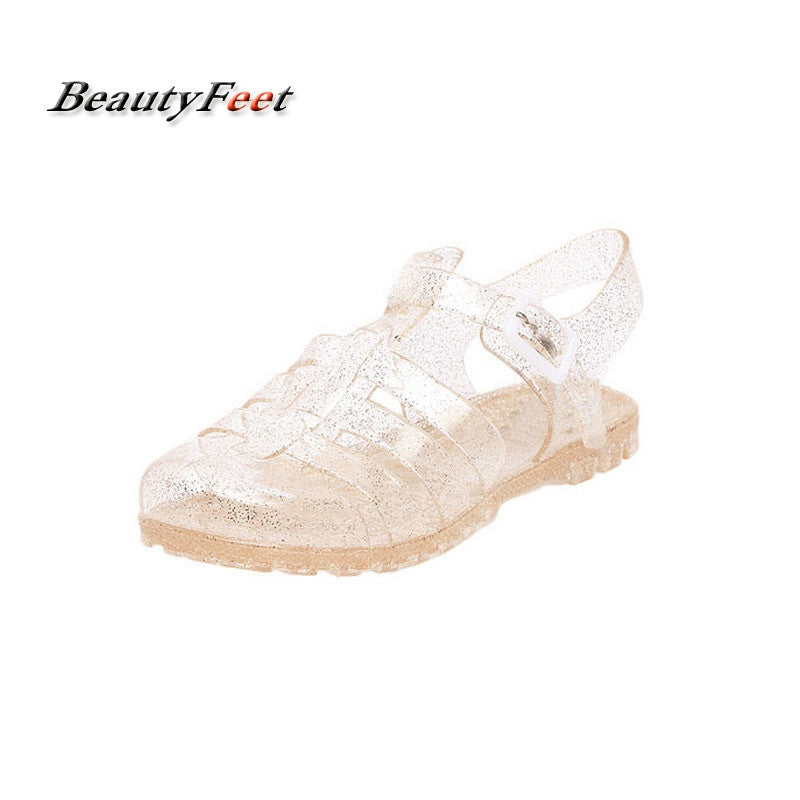 2017 Summer Women Sandals Woman Crystal Solid Casual Shoes Female