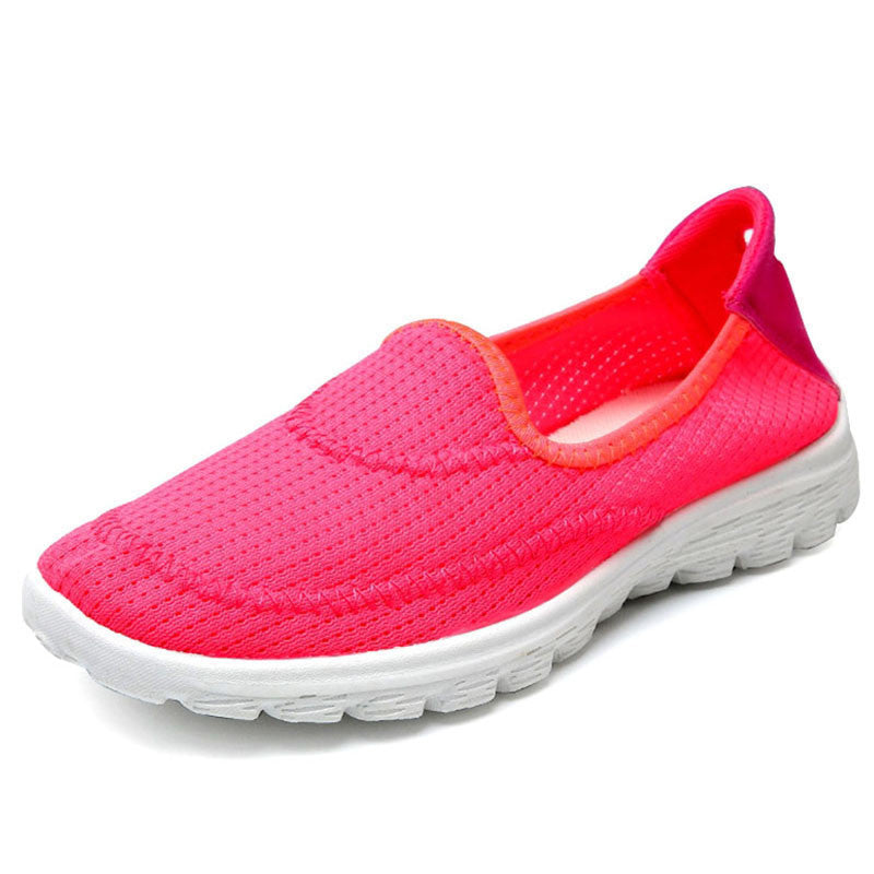 5 Colors High Quality 2017 Breathable Air Mesh Shoes Women Flats